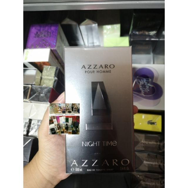 Azzaro pour homme night time edt 100ml