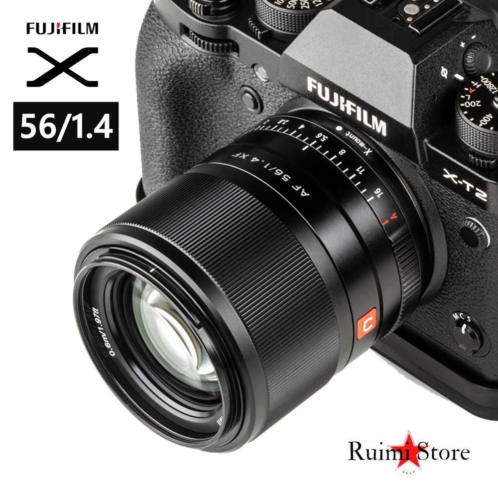 Viltrox 56mm f1.4 STM Autofocus lens for Fuji X-mount Mirrorless cameras X-Pro3 X-T2 X-T3 X-T4 X-T20 XT-30 l1DB