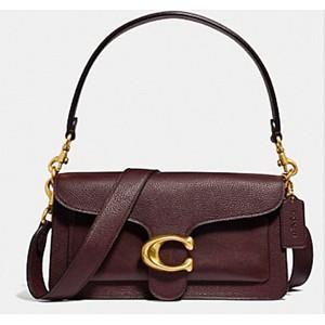 กระเป๋าสะพายข้าง Coach แท้💯 (พร้อมส่ง) ส่งฟรี Coach tabby convenience shoulder bag crossbody