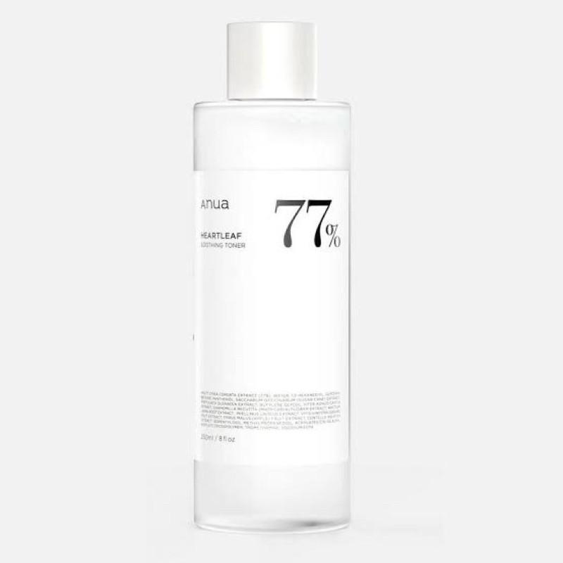 (แบ่งขาย 10,30 ml.) โทนเนอร์พี่จุน Anua Heartleaf 77% Soothing Toner