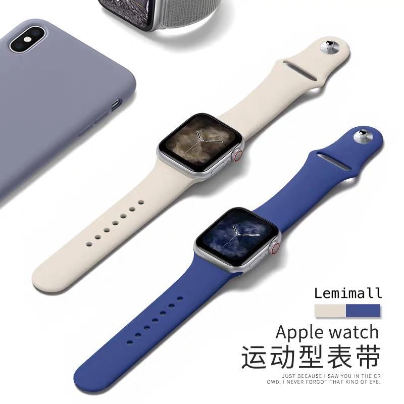 สายนาฬิกา# พร้อมส่งในไทย สายสีมาใหม่ series 6 5 4 3 2 1 สำหรับ applewatch ขนาด  42mm 44mm 38mm 40mm