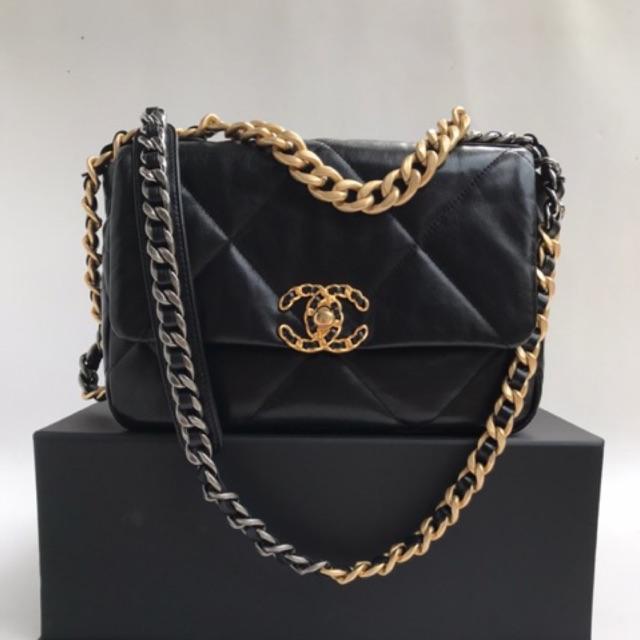 new chanel 19CF size 26classic flap bag