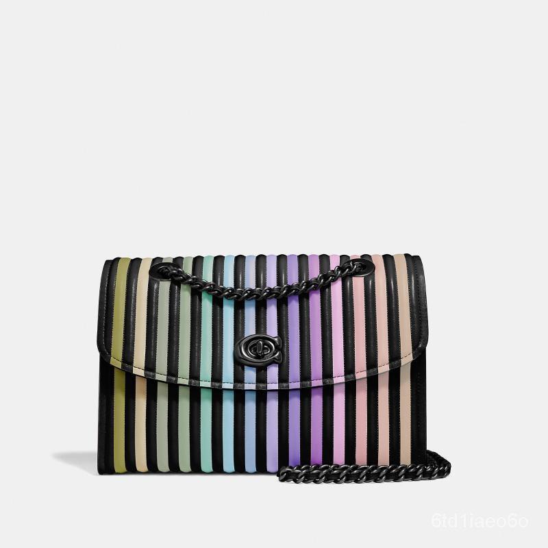 COACH/COACH กระเป๋าเงาผ้าParkerกระเป๋าสะพาย 52605