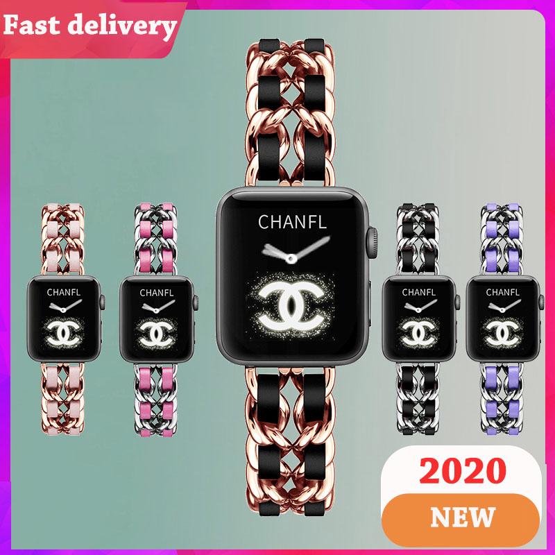 สายนาฬิกา Apple Watch Resin Straps เรซิน สาย Applewatch Series 5 4 3 2 1 Stainless Steel สายนาฬิกาข้อมือ for apple watch Series5,Series4 ,Series3, Series2 Watch band iwatch size 38mm 40mm 42mm 44mm