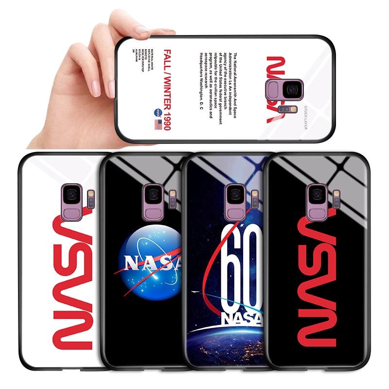 NASA เคสสำหรับ Samsung Galaxy A6 A7 A8 A9 A6+ A8+ 2018 Plus A750 A530 A730 A9S PRO 2019 A8S Star Space เคสโทรศัพท์ Case Cover เคสมือถือ