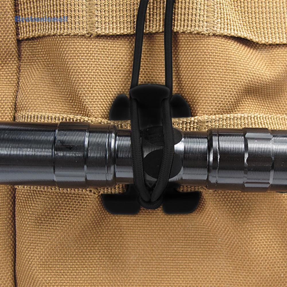 Elemolle กระเป๋าเป้สะพายหลัง Edc สายเชือกยืดหยุ่นเหมาะกับการพกพาเดินทาง