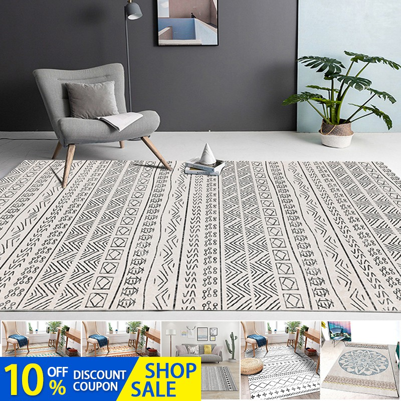 2020 Nordic Style Carpet Living Room, Area Rugs For Living Room