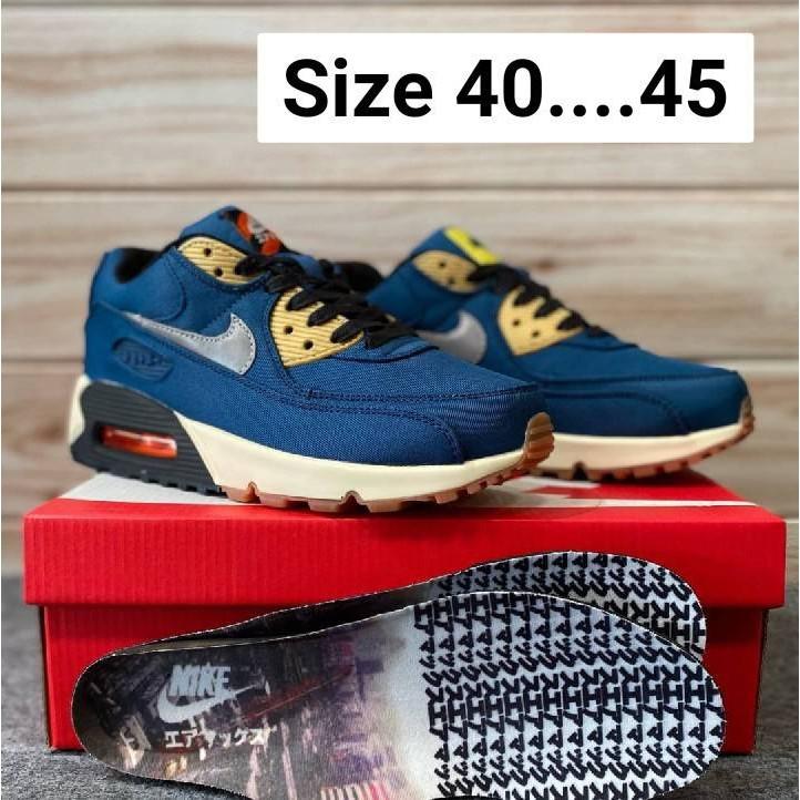 รองเท้า  Nike air max 90 รองเท้าผ้าใบ รองเท้าแฟชั่น รองเท้าลำลอง 5/5