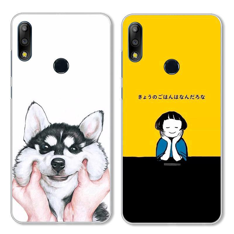 Review Asus Zenfone Max Pro M2 ZB631KL Max M2 ZB633KL Soft TPU Cartoon Patterned Case