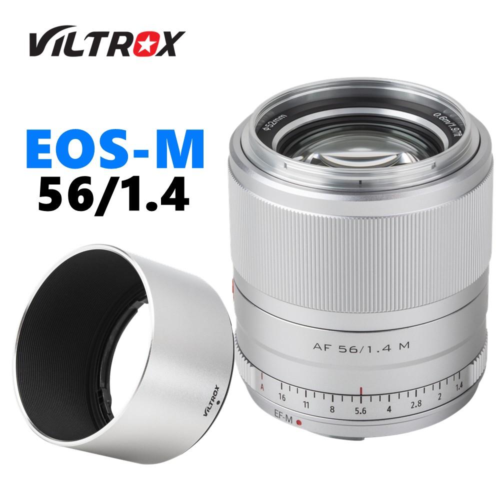 Viltrox 56mm f1.4 STM Auto Focus APS-C ไพรม์เลนส์  for Canon EOS-M Cameras M10 M50 M100 M5 M6 MarkII