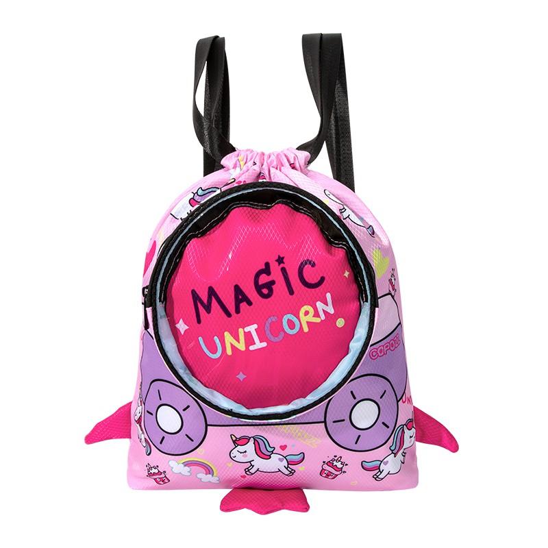 ❣❈กระเป๋าว่ายน้ำ กระเป๋าวิ่งกระเป๋าว่ายน้ำเด็ก COPOZZ แยกแห้งและเปียกกระเป๋ากันน้ำเดินทางชายหาดกระเป๋าเป้สะพายหลังเก็บอุ