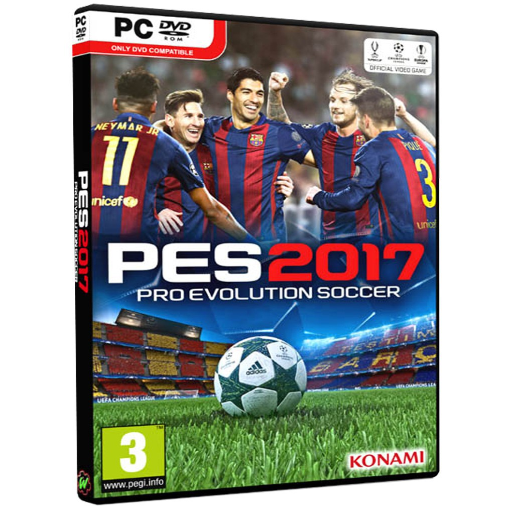 PC Game Download - Pro Evolution Soccer 2017 - PES 2017