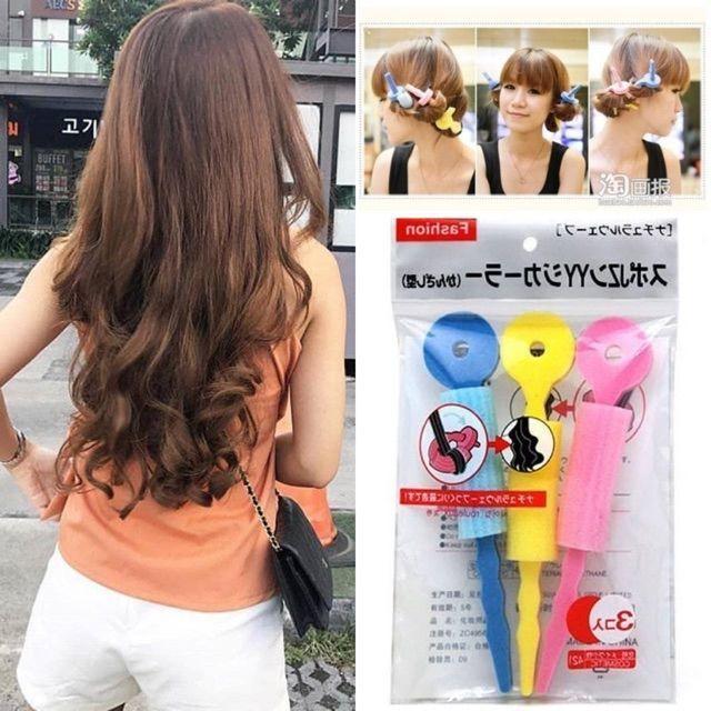 🔥พร้อมส่งด่วน🔥 โรลม้วนผมลอน แกนนิ่ม แกนม้วนผม Hairroll(1ชุด3ชิ้น)  โรลม้วนผม ฟองน้ำม้วนผม ผมสวยไม่ง้อความร้อน | Shopee Thailand