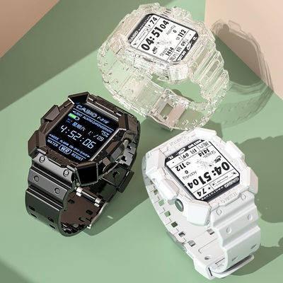 สายนาฬิกาอัจฉริยะ สาย applewatch สายนาฬิกา สายนาฬิกา applewatch Applicable Apple Watch Armored Electronics Table IWATCH6