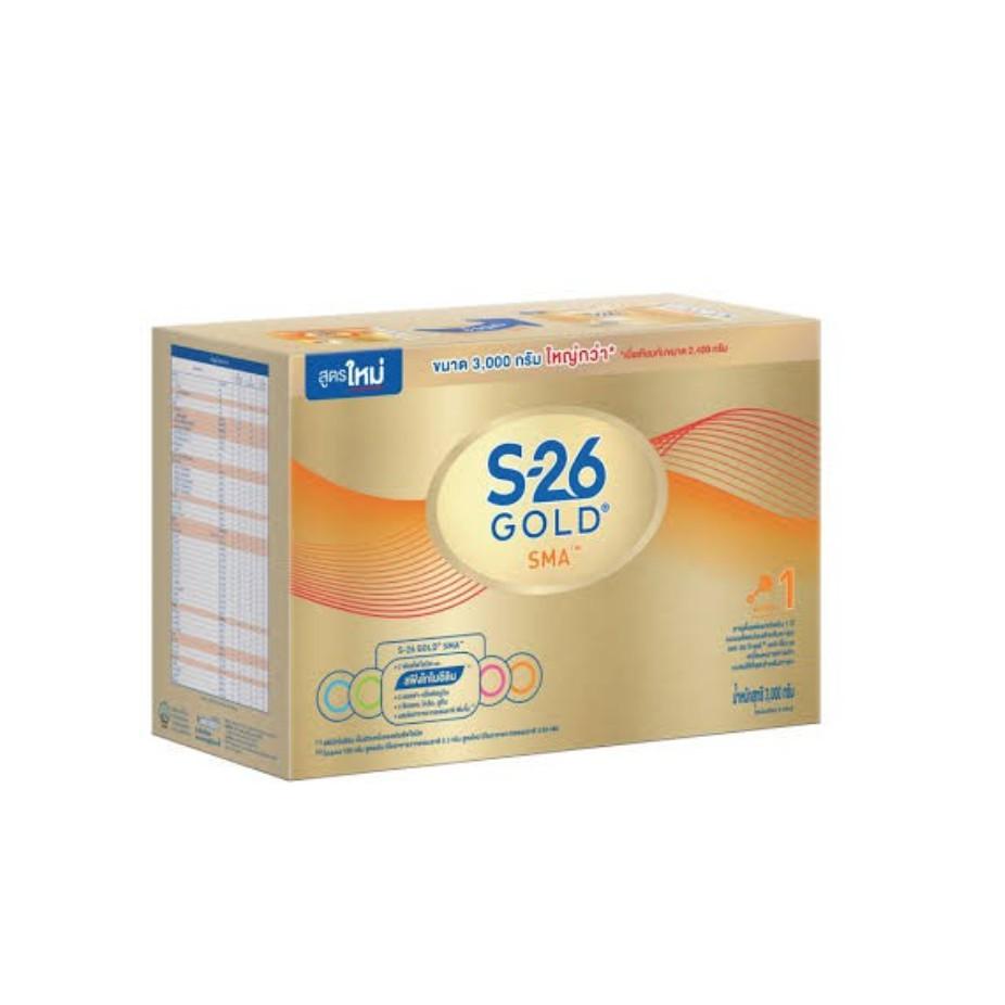S26 นมผงเอส26 SMA Gold สูตร1 2400กรัม