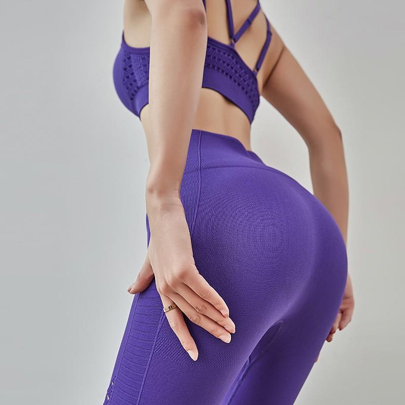 ผู้หญิง เอวสูง การออกกำลังกาย โยคะ กางเกงกีฬา 321S5 wCRO