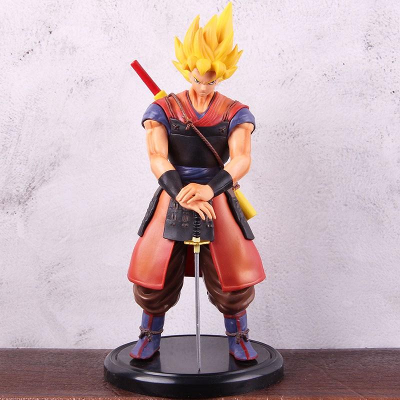 ฟิกเกอร์ Dragon Ball Samurai Son Goku Son Gokou Figure Statue PVC Dragonball Z