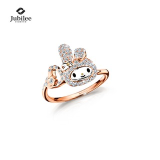 [Sanrio ลิขสิทธิ์แท้] Jubilee Diamond - LOVABLE LIGHTS RING: MY MELODY