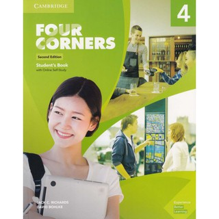 DKTODAY หนังสือ Four Corners Level 4 Student's Book with Online Self-Study (2nd Edition)