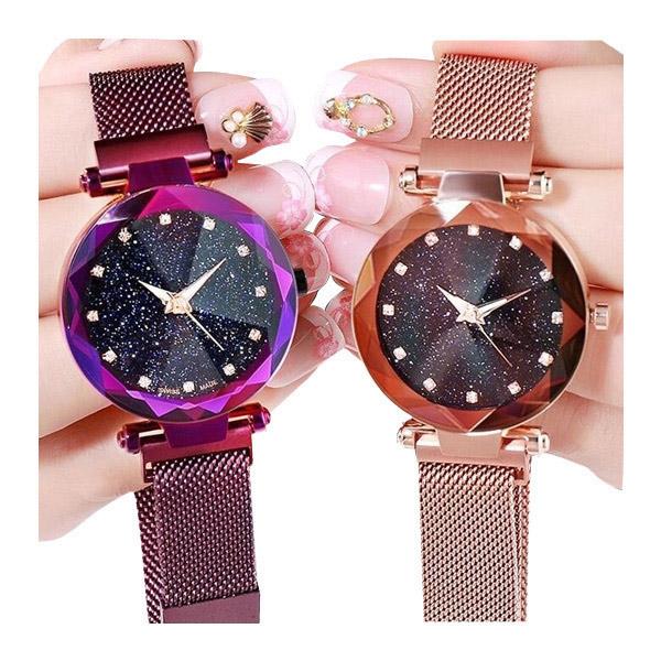 Comeandpisty Star นาฬิกาข้อมือแฟชั่น สำหรับสตรี