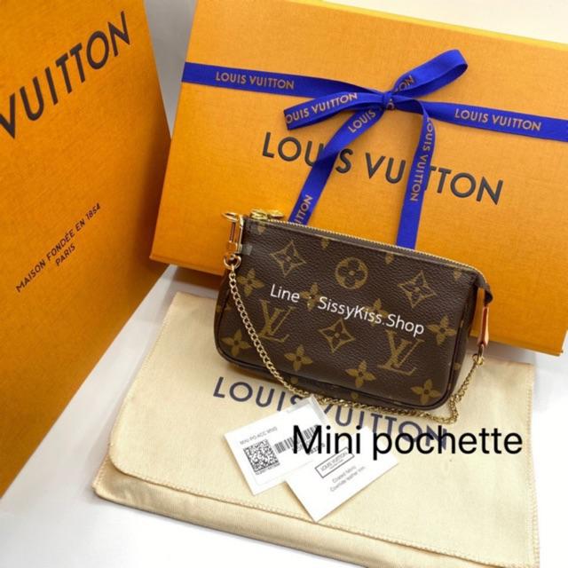 New LV Mini Pochette Mono