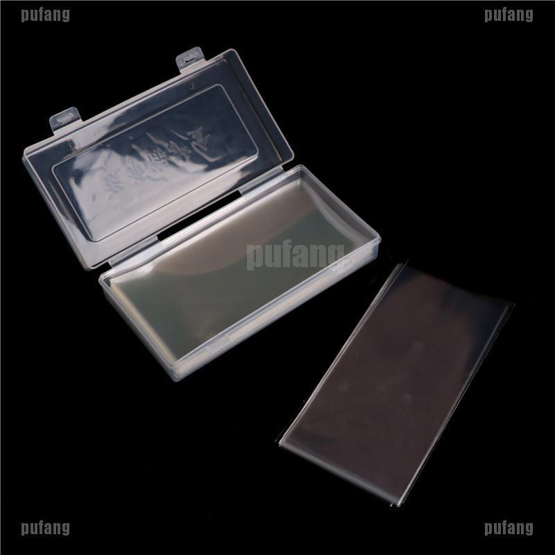 100pcs Banknotes Bags Money Protection Box Storage Bag Collection-Box Plastic