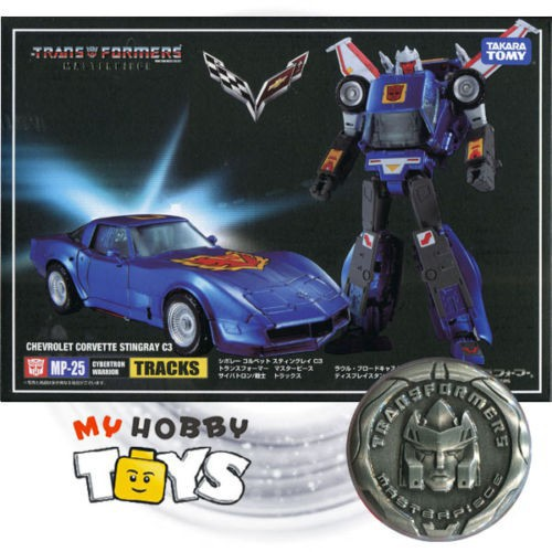 Masterpiece G1 MP25 Tracks Chevrolet corvette stingray C3 Action Figure KO Toy
