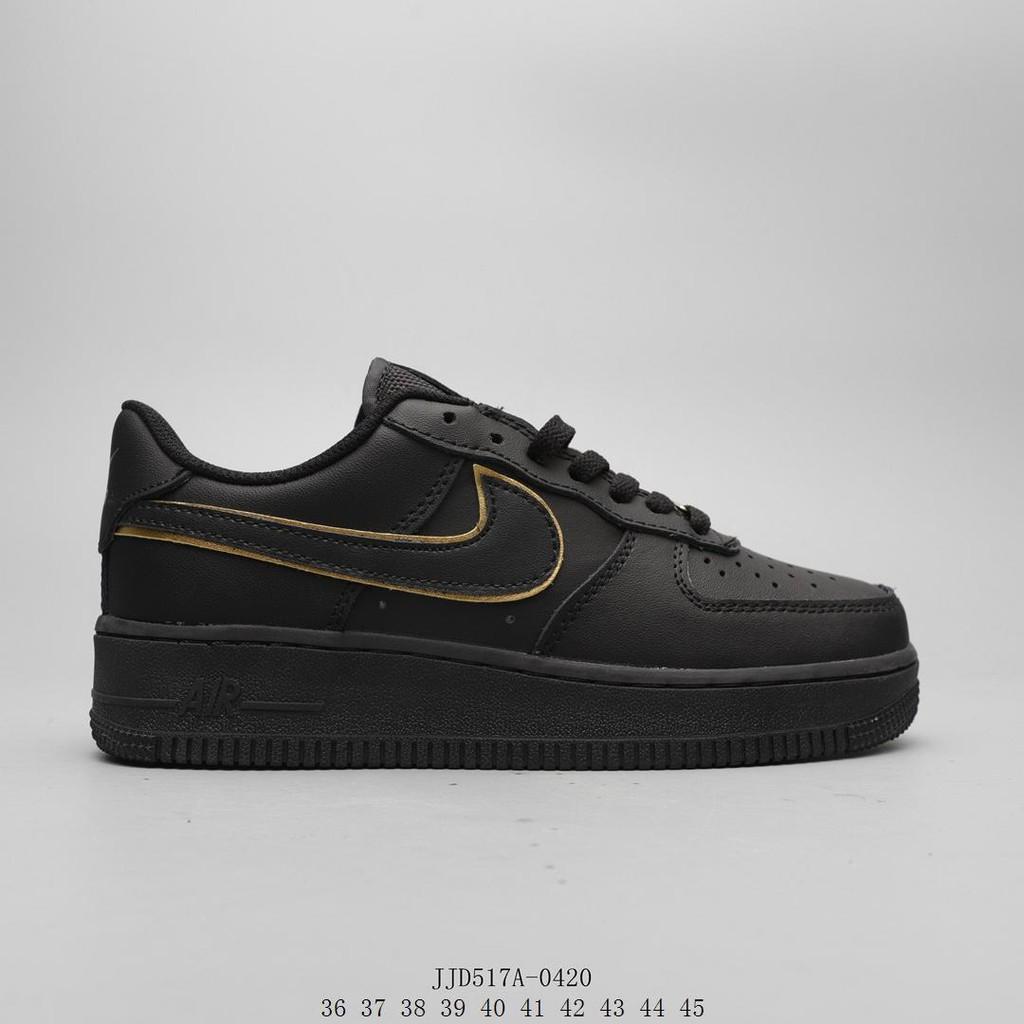Nike Nike Air Force 1 Shadow AF1 Air Force One รองเท้าผ้าใบสะท้อนแสงต่ำ