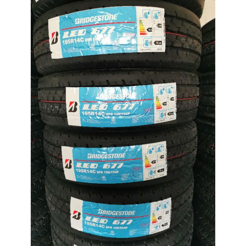 Bridgestone 195R14 Leo677 ยางปี 20