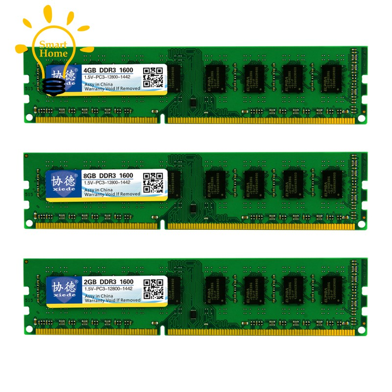32GB 16GB 8GB 4GB DDR3 1600Mhz PC3-12800 Desktop RAM White For HyperX FURY LOT