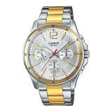นาฬิกา รุ่น Casio นาฬิกาข้อมือ ผู้ชาย  สายสแตนเลส รุ่น MTP-1374SG-7A ( Silver ) จากร้าน MIN WATCH nm8T