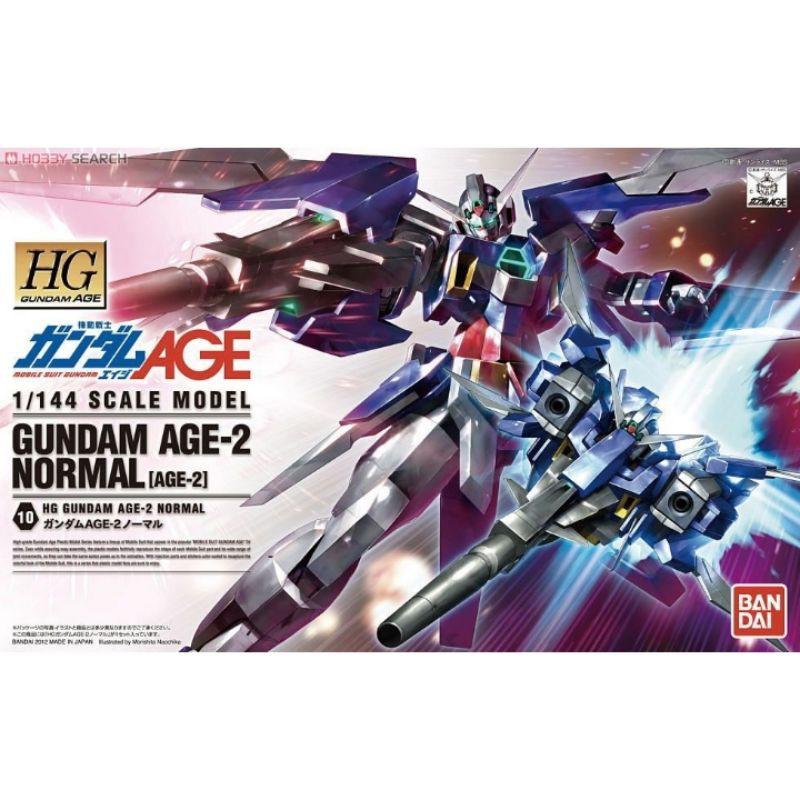 Hg Gundam Age-2 ของเล่นสําหรับเด็ก Bandai