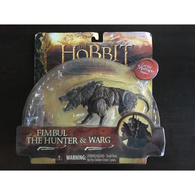 The Hobbit Action Figure, 1:18, Warg