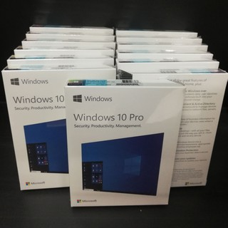 🔸Windows 10 Pro 32/64 Bit ENG FPP[HAV-00060] -  Box FullPackage​ New​ Product​