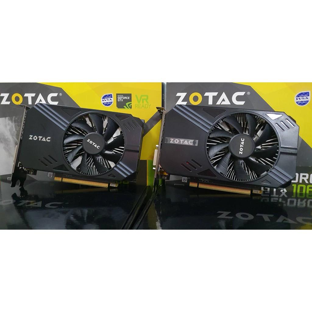 (สินค้ามือสอง) การ์ดจอ ZOTAC GTX1060 3GB