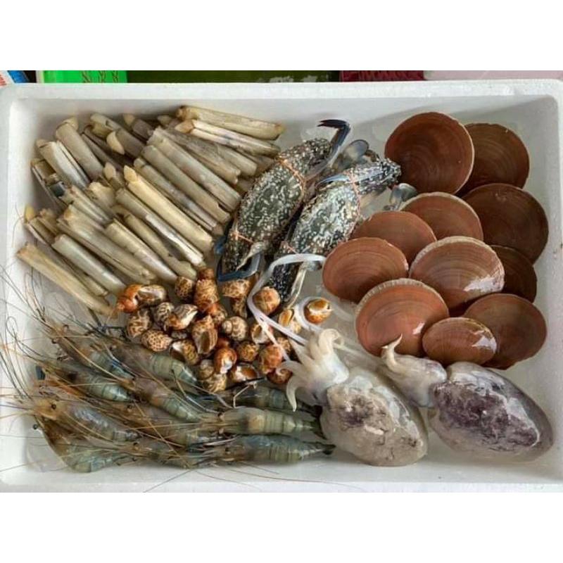 กล่องสุ่มอาหารทะเลสดๆ
