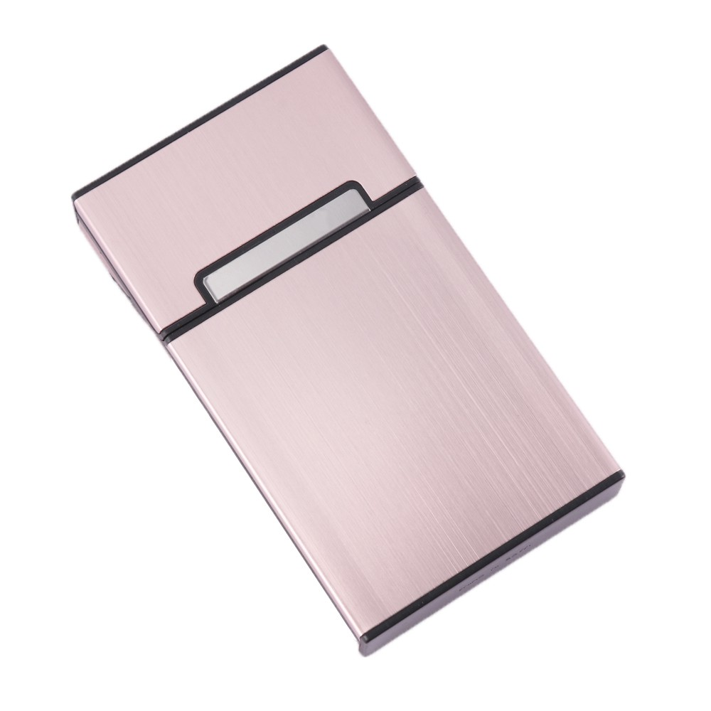 SGDL02 Mini Cigarette Holder Thin Fashion Pipe Personality Cigarette Case Slim Cigarette Box Aluminum Box