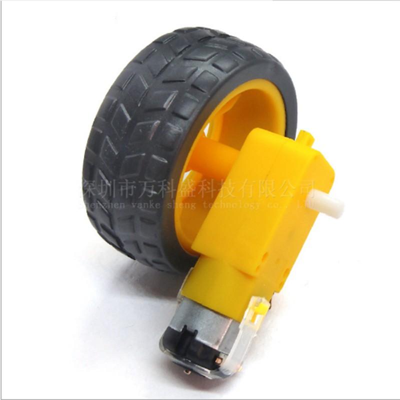 ยางรถยนต์อัจฉริยะ+มอเตอร์ Dc Reducer 56 G