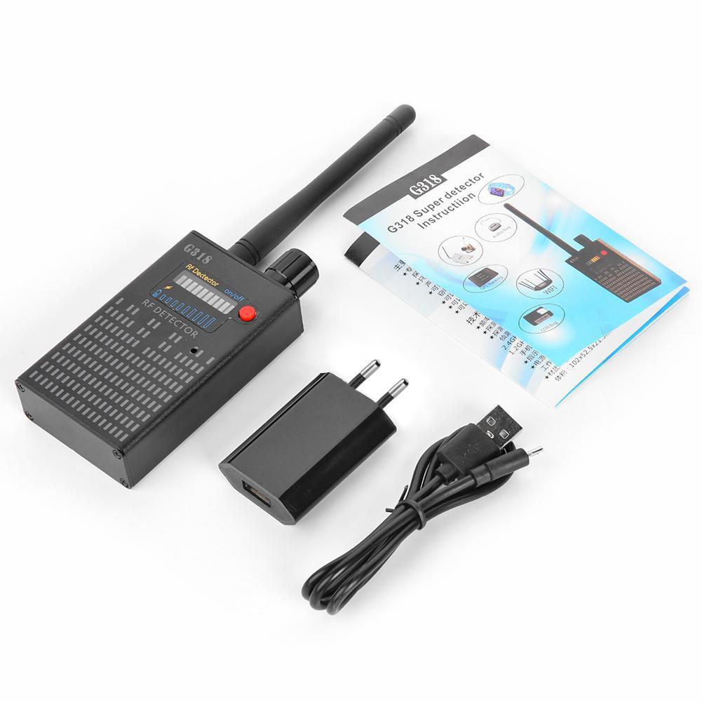 ☞SCS☜G318 Wireless Signal Bug Detector Anti Candid Camera