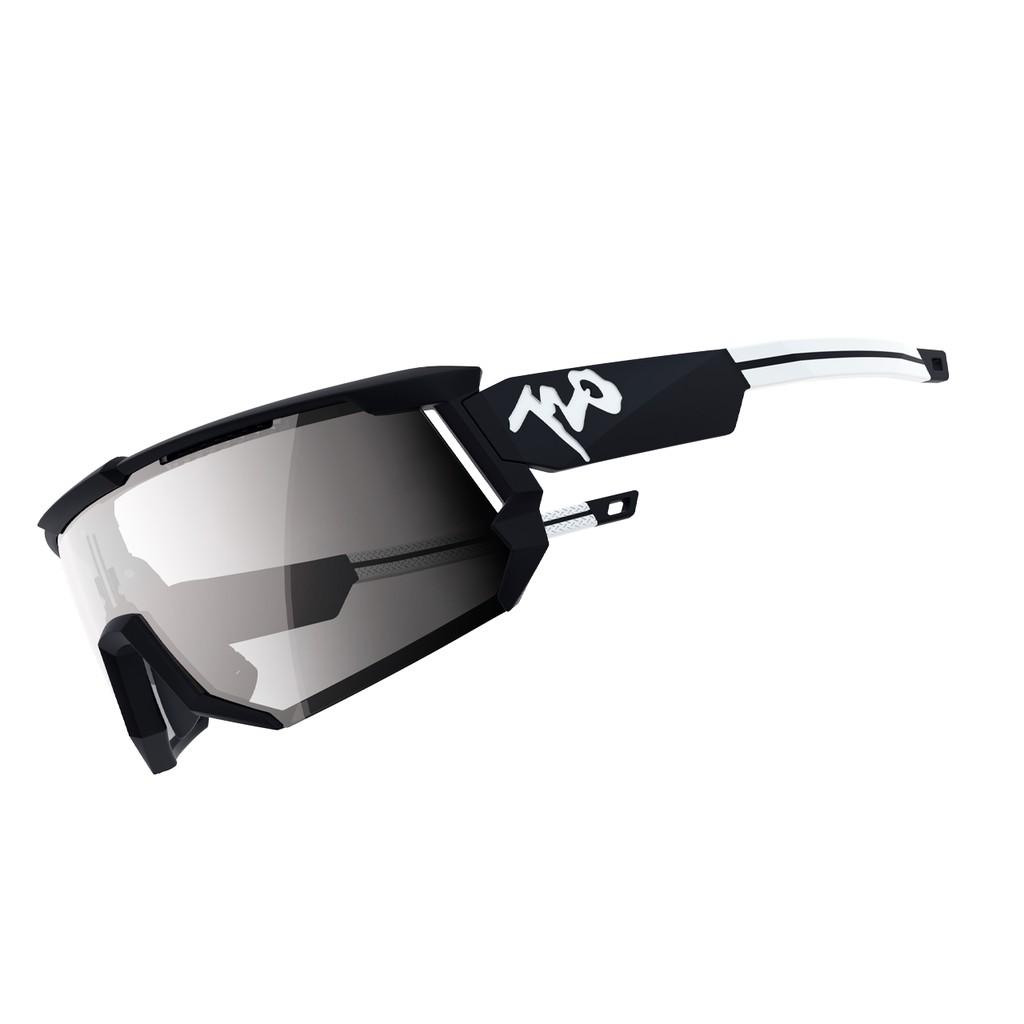 แว่นตากันแดด 720armour รุ่น Mars สีกรอบ Matte Black สีเลนส์ Platinum Grey Ti
