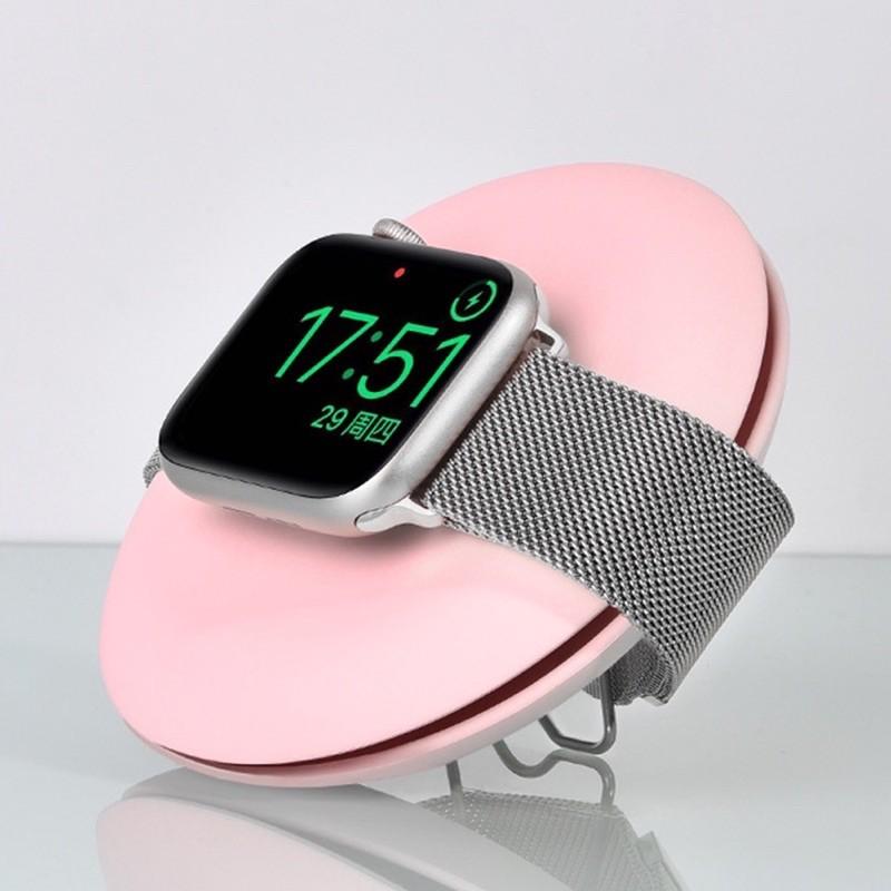 แท่นวางที่ชาร์จ / อุปกรณ์จัดเก็บสายApplewatch ทรงกลม