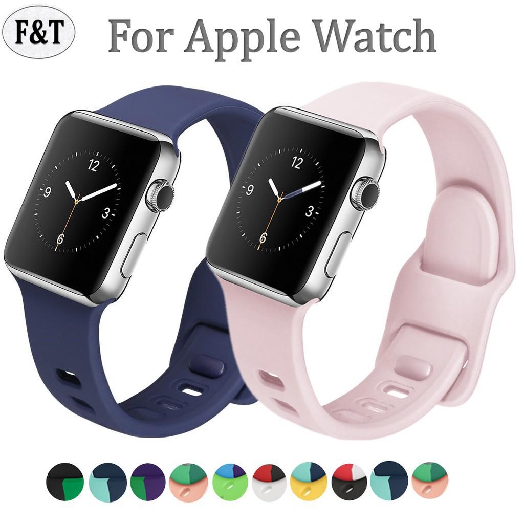 สาย applewatch พร้อมส่ง‼️ สายสำหรับ Apple Watch สีมาใหม่ series 6 5 4 3 2 applewatch se, สายสำหรับ apple watch ขนาด 42mm