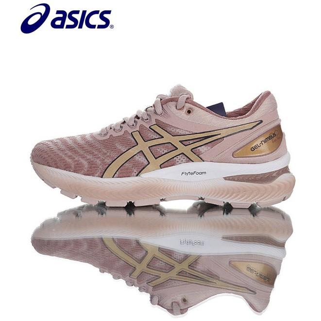 Asics Gel-Nimbus 22 รองเท้าวิ่งสตรี รองเท้าลำลอง รองเท้ากีฬา