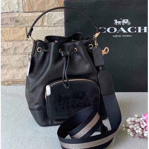 กระเป๋าสะพายข้าง JES DRAWSTRING BUCKET BAG (COACH 1898)