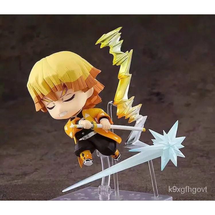 Anime Demon Slayer  Agatsuma Zenitsu No.1334 Action Figure Demon Slayer: Kimetsu No Yaiba Model Toy