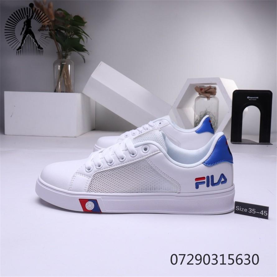 FILA รองเท้าผู้ชายรองเท้าผ้าใบแฟชั่นรองเท้าวิ่ง280