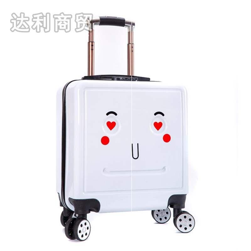 ✱รหัสผ่าน กระเป๋าเดินทางใบเล็ก ทารก การ์ตูน เด็กผู้ชาย เด็กเดินทาง 18 นิ้ว 20 รถเข็น กระเป๋าเดินทางหนัง นักเรียน สาว กล่