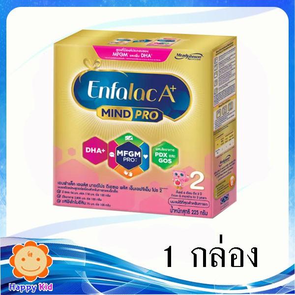 Enfalac A+ เอนฟาแล็ค เอพลัส สูตร2 225 กรัม 1กล่อง