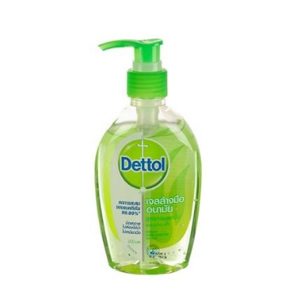 kikuza365 เจลล้างมืออนามัย ผสมอโลเวล่า 200ML DETTOL | DETTOL