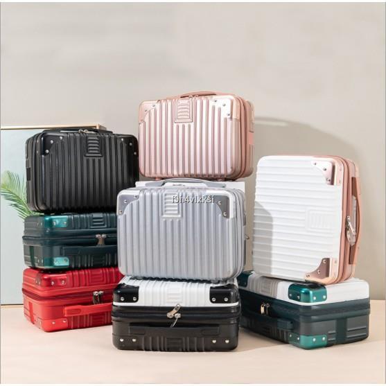 ส่งจากกรุงเทพ☋กระเป๋าเดินทางมินิ  กระเป๋าเดินทาง 14 นิ้ว มีสายรัดเสียบคันชักกระเป๋าเดินทางได้